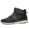 men's high-top outdoor hiking sneakers winter warm shoes