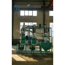 Double mill  automatic loading flour mill