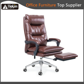 High Back Recliner Leather Office Chair