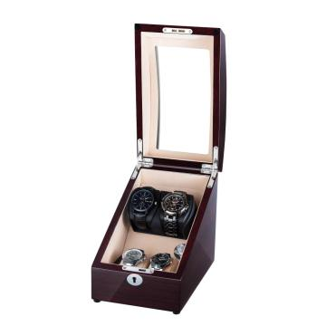 watch winder for 5 watches with mahogany paper