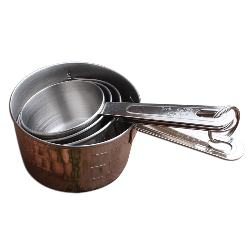 18/0 Newest Stainless Steel Measuring cup set