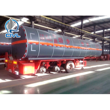 3 Axle Empty Weight 7T Petrol Tanker Trailer