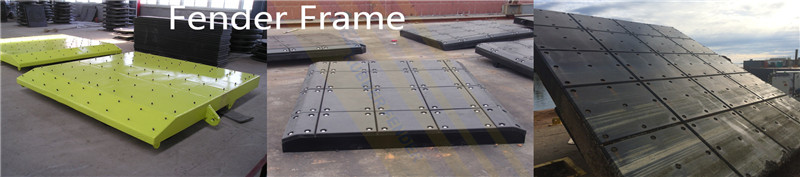 High strength steel fender frames