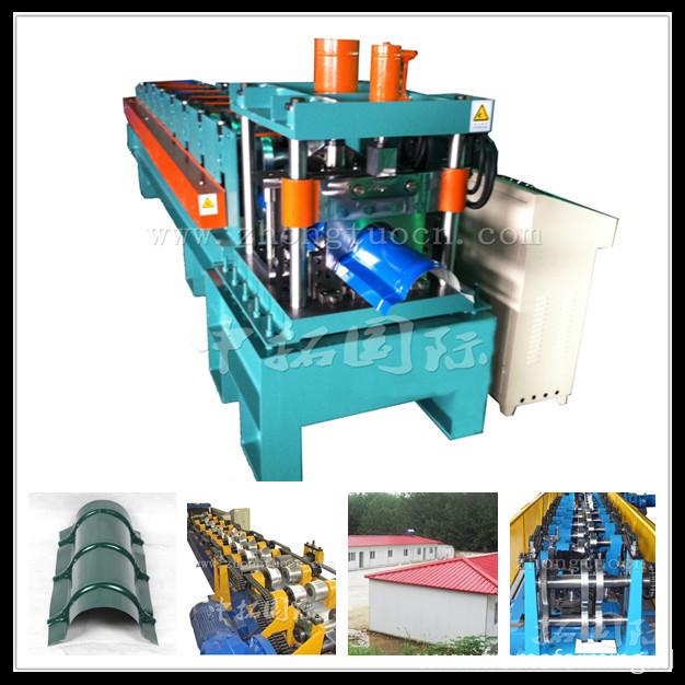 Metal Colored Steel Roofing Arch Sheet Roll Forming Machine