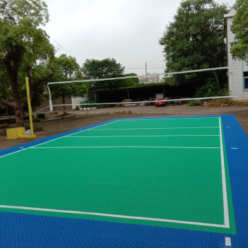Outdoor Tennis Court Surface/PP Interlock Floor