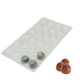 PET PP Custom Truffle Packing Chocolate Blister Tray
