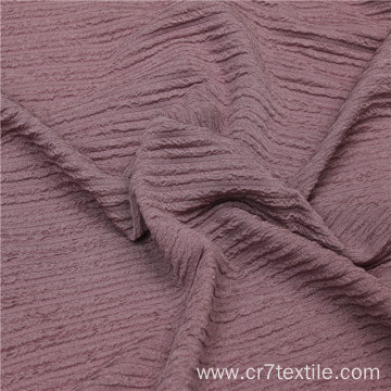 Polyester Fukuru Double Creshed PD Clothing Fabric