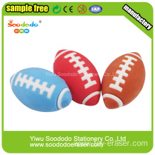 American Rugby Shaped Eraser ,stationery from school erasers