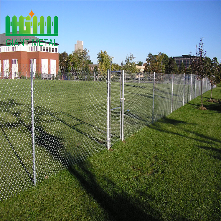 construction chain link fence