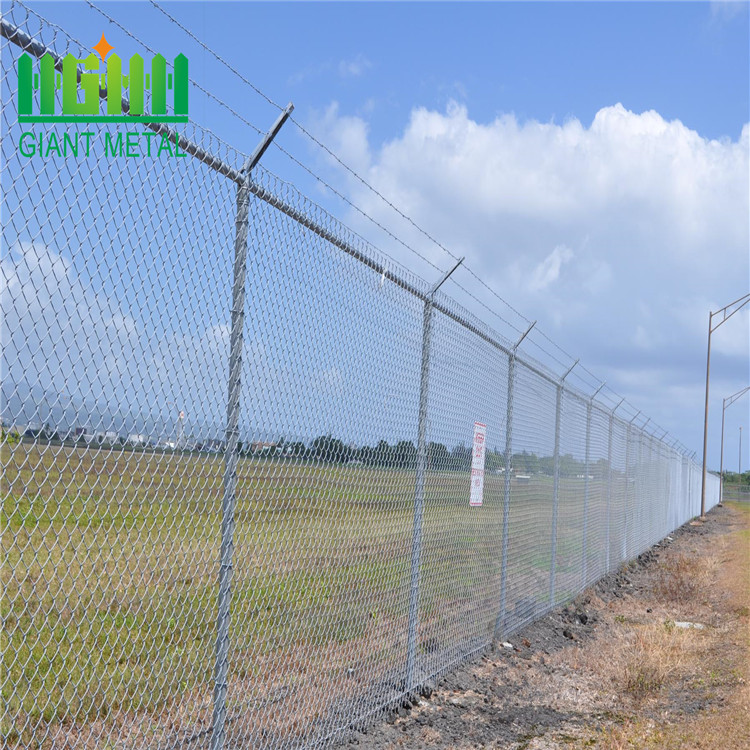 6 foot chain link fence