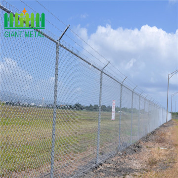 Cyclone wire mesh fence