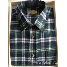 Top Cotton Flannel Fabric Business Shirt