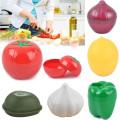 Kitchen Food Crisper Fruit & Vegetable Storage Containers Onion Lemon Tomato and Garlic Creative Fresh Storage Box