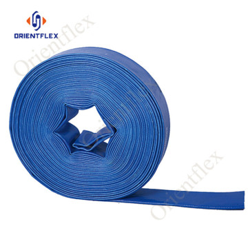 flexible blue lay flat hose