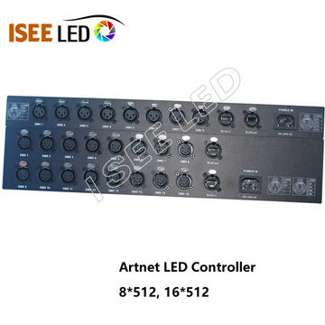 Artnet to DMX Controllers