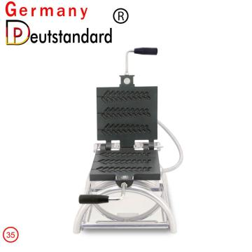 Three lolly waffle maker machine electric waffle making for good sale