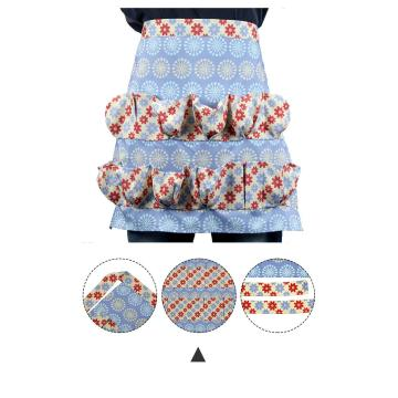 Egg apron custom made pattern splicing waterproof