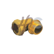 Brass 90degree compression male elbow