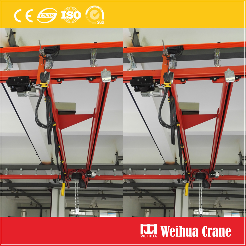 curve-rail-suspension-crane-system