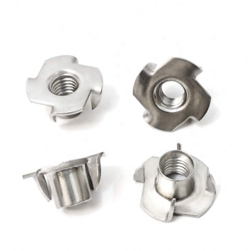 Stainless Steel Four Claw Tee Nut