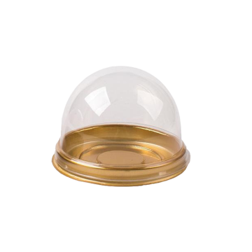 Round Clear Transparent Plastic Cake Box
