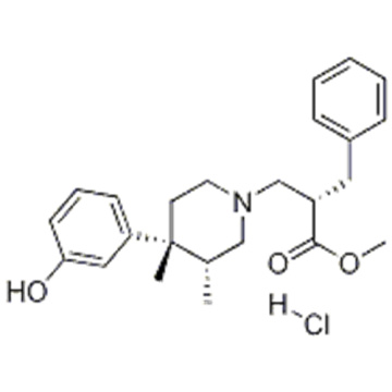 (AS, 3R, 4R) -4- (3-HYDROXYPHENYL) -3,4-DIMETHYL-A-BENZYL-1-PIPERIDINEPROPANOIC ACID CAS 170098-28-9