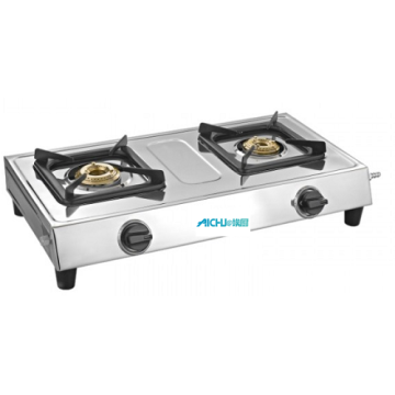Style 2 Burner SS Gas Cooktop