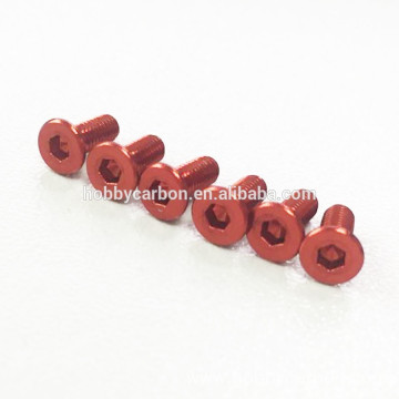 M3 Anodized Any Color Aluminum Screws and Nuts