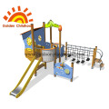 Balance Slide Tower Outdoor Playground Equipment For Sale