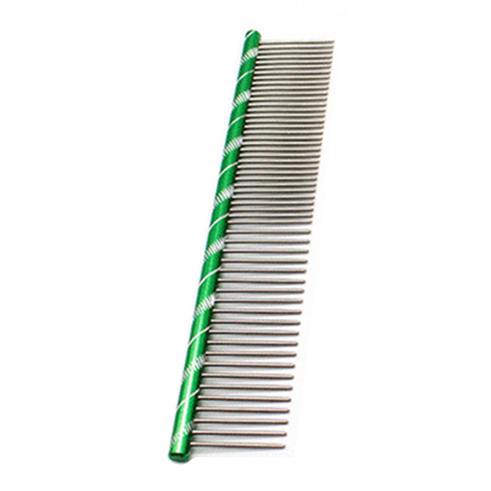 Pet Dog Grooming Comb Brush Single Row Teeth Paw Print Dog Hair Removal Brush Dog Grooming Comb Dog Cat Supplies Pet Products