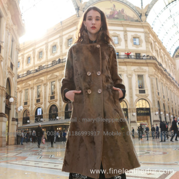 Overcoat Long For Lady In Winter