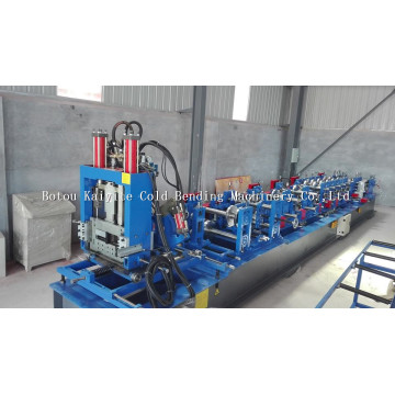 Automatic Quick Change C Z Shape Purlin Machine