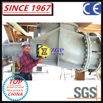 Industrial Chemical Axial Elbow Pump /Propeller Pump