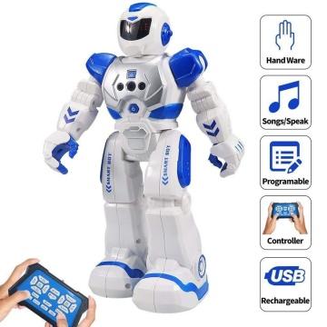 RC Robot Smart Walk Sing Dance Sensor Toys Fighting Flying Robot Kids Robot Boys and Girl Gift for Children Kids Gifts Toy Robot