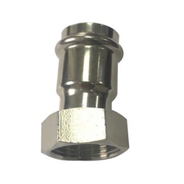 Female Thread Coupling Stainless Steel press pipe Fitting