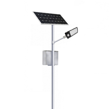 solar street lightingwith solar panel and battery