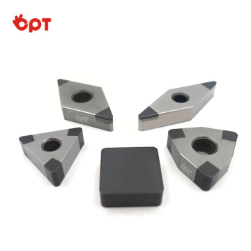Durable PCD CBN insert cutting tools