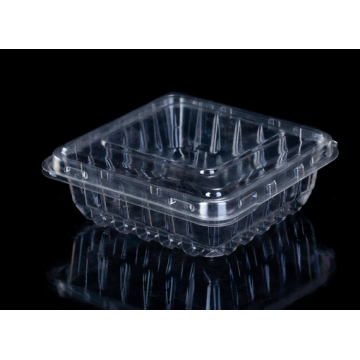 clear plasticclamshell for food