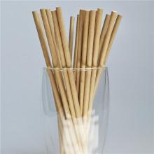 10000pcs White Black Brown Kraft Paper Straws Eco-friendly Biodegradable Drinking Straws Kids Birthday Wedding Party Decorations