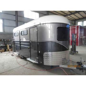 Custom Made Horse Trailer 2 Horse Angle Load