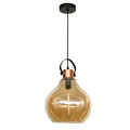 single pendant lamp hand blown glass pendant light