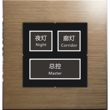 Smart hotel switch button dry contact switch