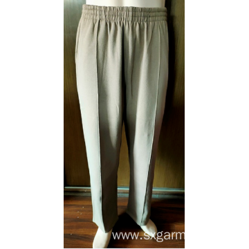 55% cotton 45% polyester man's fleece track pants