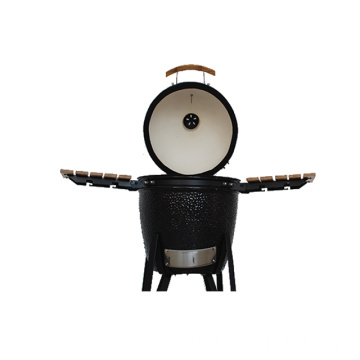 Black Cheap Kamado BBQ Grill