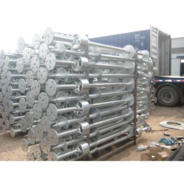 Korean Ground Screw Pile for Solar Energy