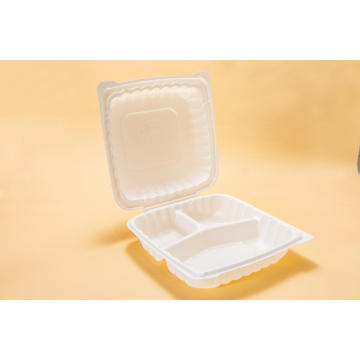 Disposable Plastic Hinged Lunch Box