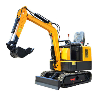 1 ton digging machine mini excavator