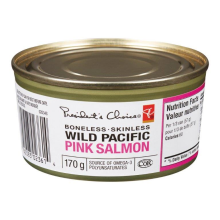 Canned Pink Salmon In Brine