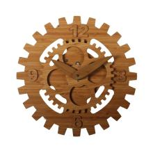 Decorative Big Bamboo Wall Clock for Home