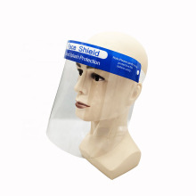 Anti fog Transparent Plastic Protective Clear Face Shield